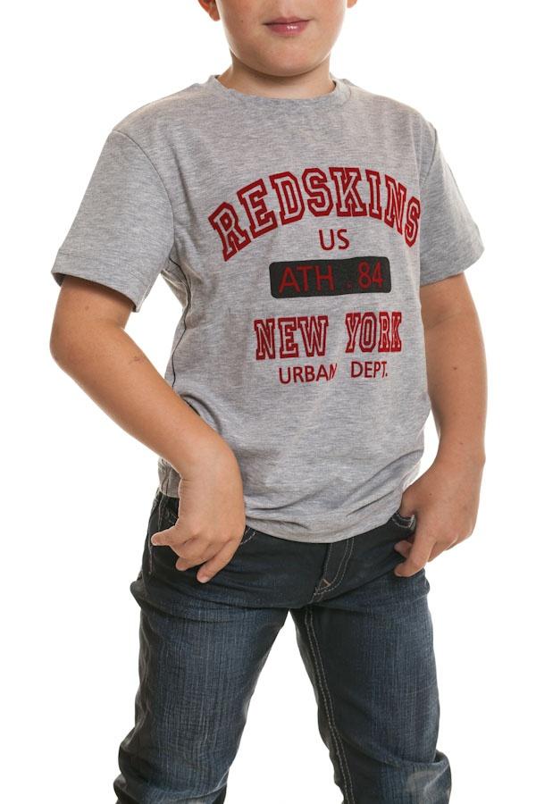 Tee Shirt Enfant Redskins Junior BOOST GRIS CHINE