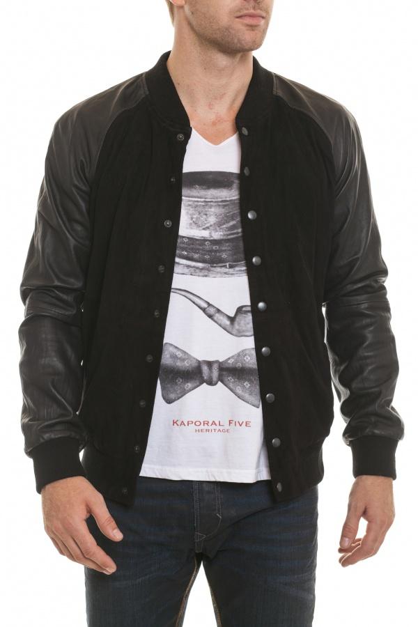 Blouson Homme Napp Jeans COLLEGE JACKET BLACK ZZ