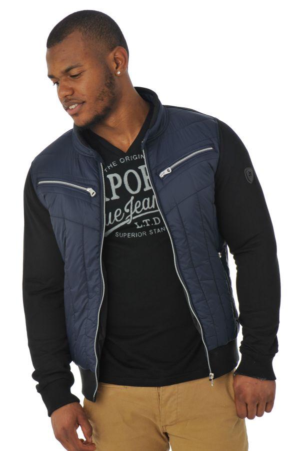 Pull/Sweatshirt Homme Redskins JIM POSTER DARK NAVY/ BLACK