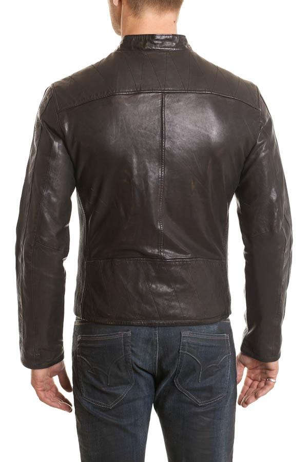 Blouson Homme Daytona CHRIS LAMB HARVEY BLACK
