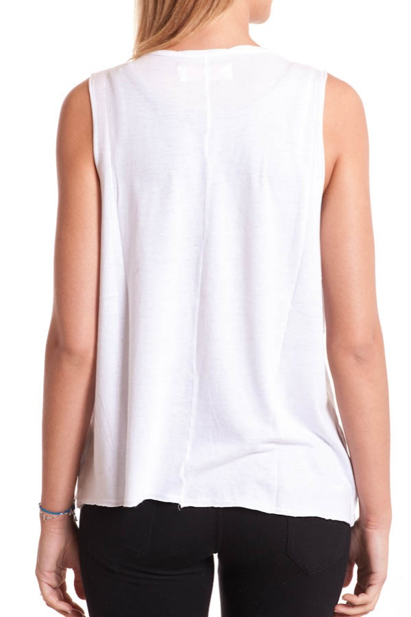Damen T-shirt Kaporal CHEER BLANC