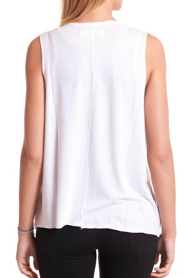 Tee Shirt Femme Kaporal CHEER BLANC