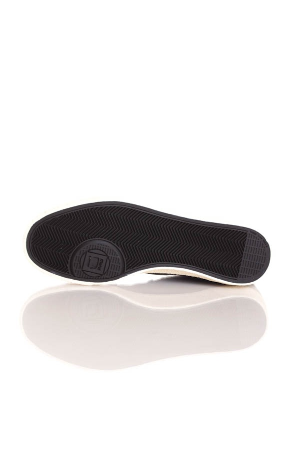 Baskets en cuir Homme GStar Footwear RAMPART JINKS PRINT BLACK LTHR & TEXTILE