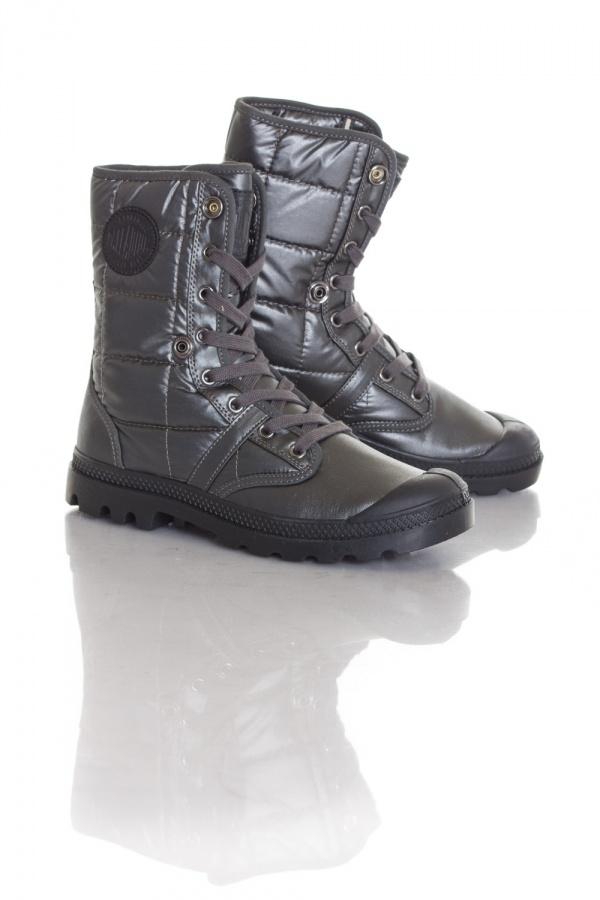 Boots / bottes Femme Palladium BAGGY REIS F 1FH7 DARK GREY