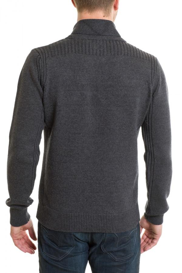 Pull/sweatshirt Homme Schott PLMILFORD6 ANTHRACITE