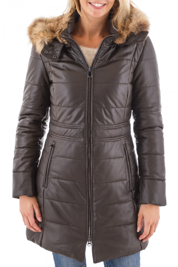 Veste Femme Oakwood STAY MARRON FONCE 504