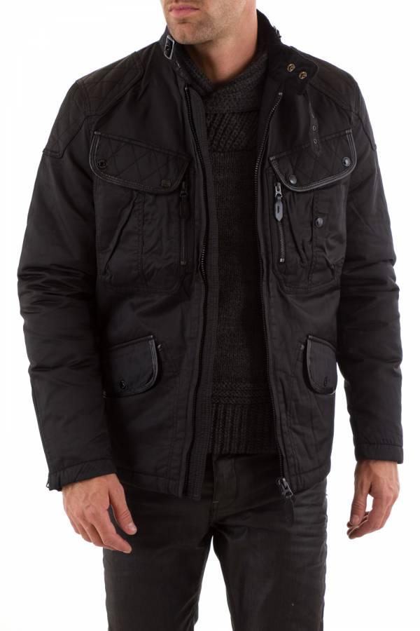 Blouson Homme Schott DUNSTALL2 BLACK