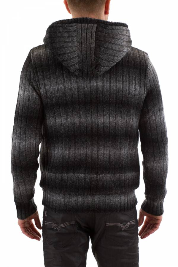 Pull/Sweatshirt Homme Schott PLPROGRESS1 BLACK STRIPES