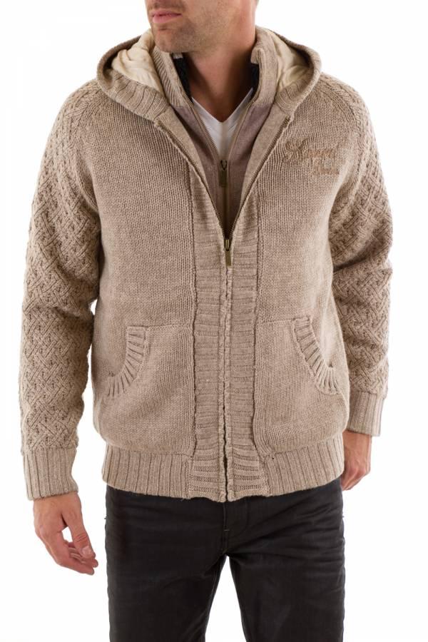 Pull/Sweatshirt Homme Kaporal KRUSH BEIGE