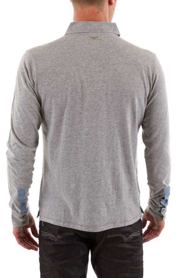 Polo Homme Kaporal BUMP GREY MARL