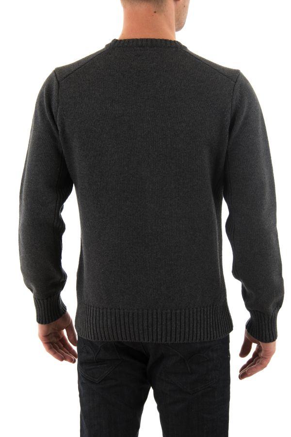 Pull/Sweatshirt Homme Schott PLMILFORD4 ANTHRACITE