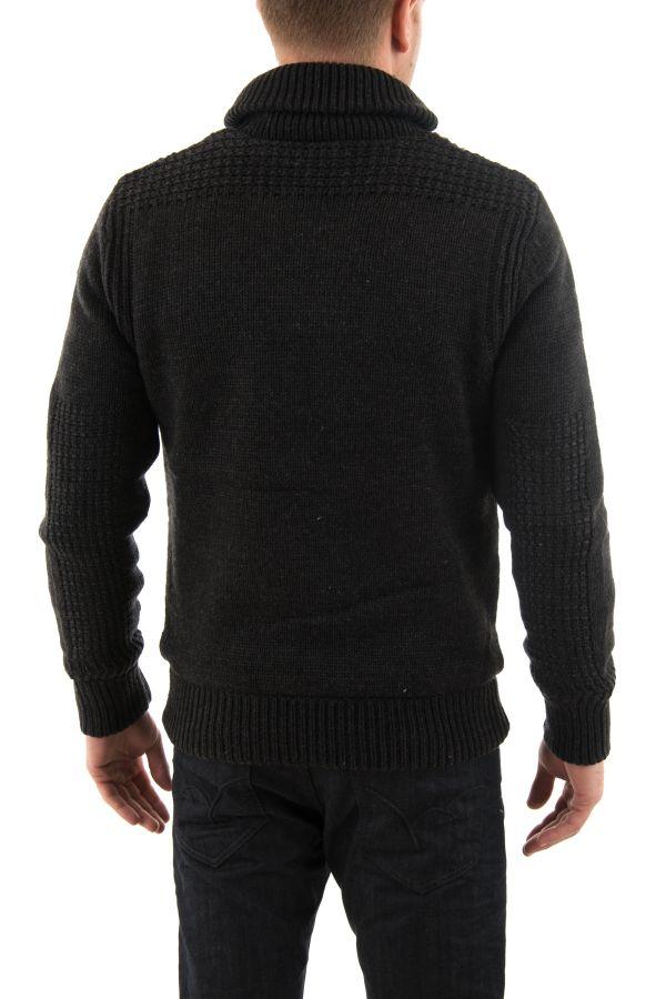 Pull/Sweatshirt Homme Schott PLFACT1 H BLACK
