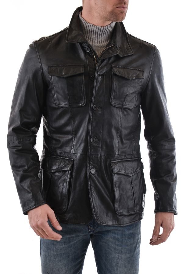 Veste Homme Daytona SPEED SHEEP TIGER BLACK