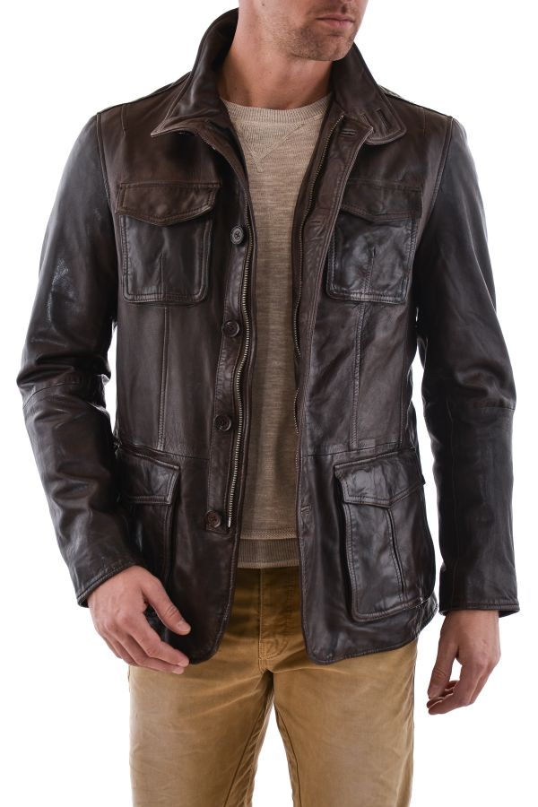 Veste Homme Daytona SPEED SHEEP TIGER REDDISH BROWN