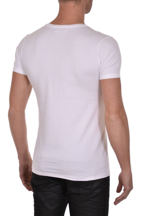 Tee Shirt Homme Kaporal MOBO OPT WHITE H15