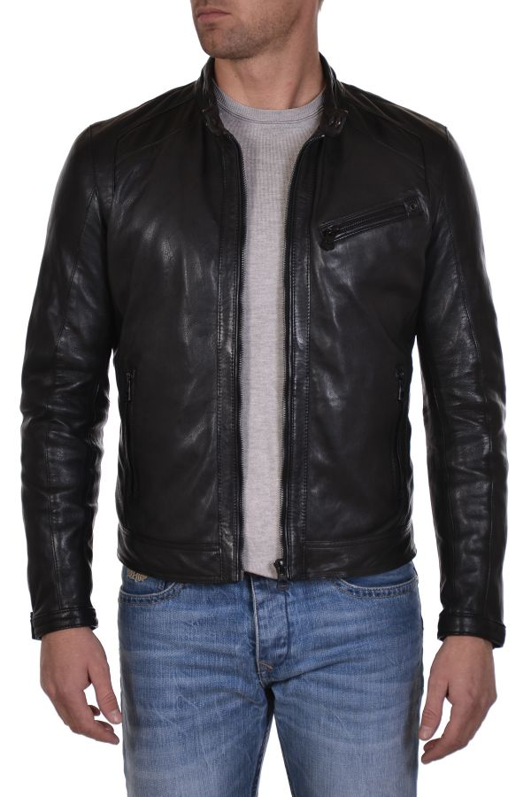 Blouson Homme Daytona FERRY SHEEP PUNTO BLACK ZZ