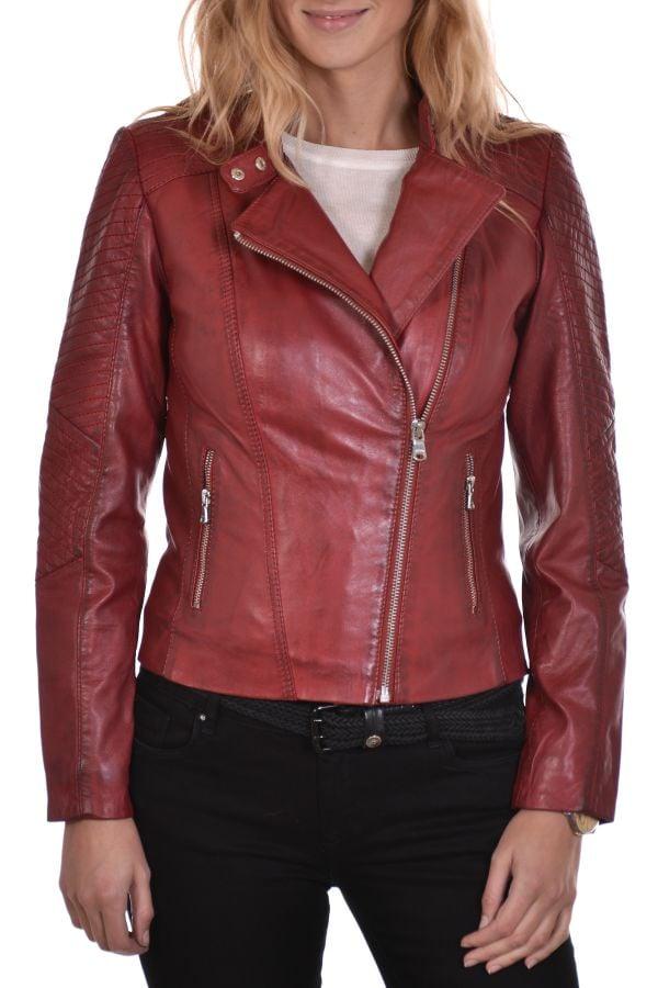 Blouson Femme Redskins LIPSTICK RIVOLI RED H15