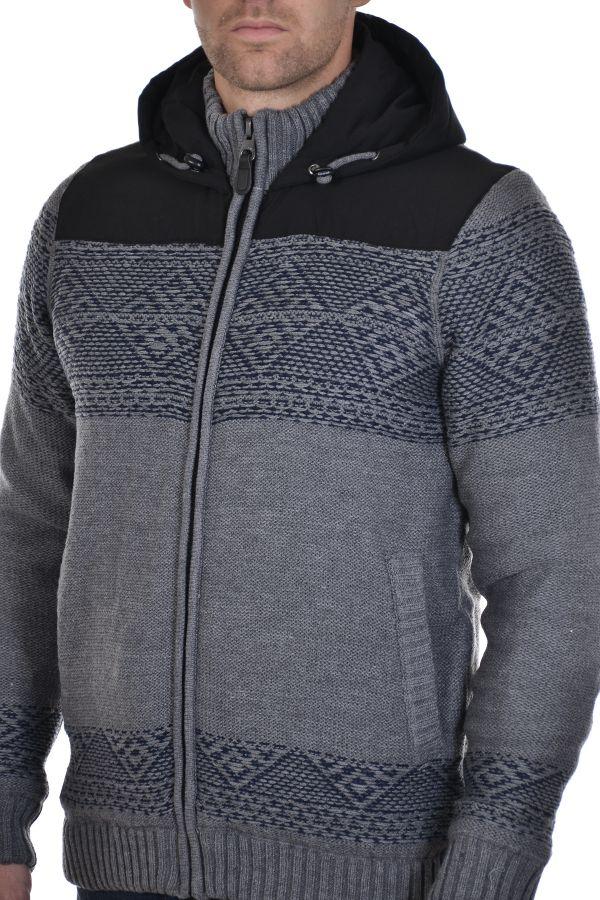 Pull/Sweatshirt Homme Redskins JEFFERSON IRWINTON GREY CHINE