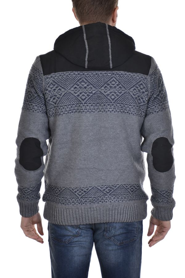 Pull/Sweatshirt Homme Redskins JEFFERSON IRWINTON GREY CHINE