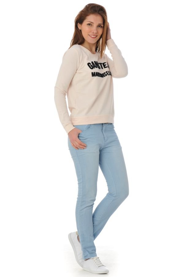 Pull/Sweatshirt Femme Kaporal NOUSE PETAL PINK