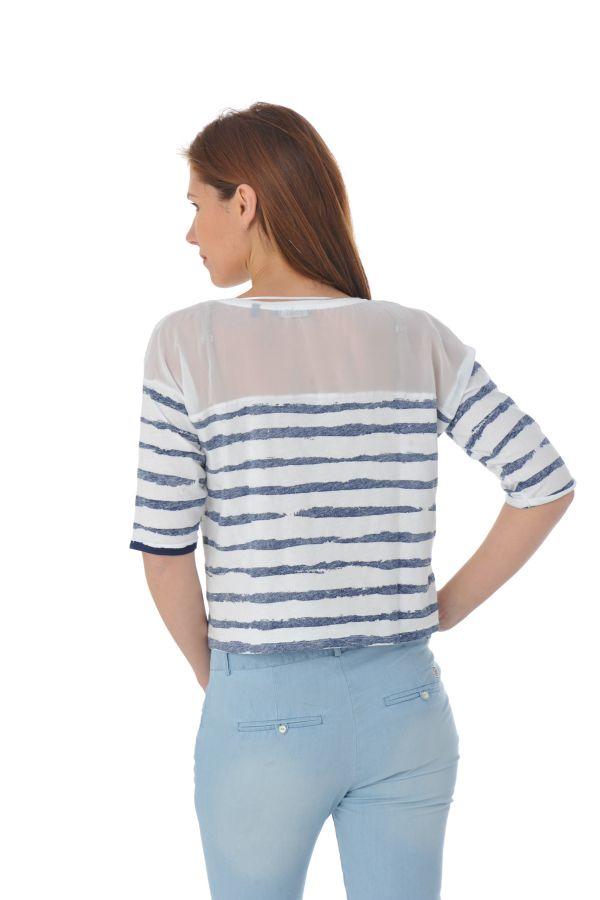 Tee Shirt Femme Kaporal ROSAS WHITE P16