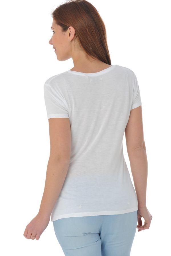 Tee Shirt Femme Kaporal NOUSH OPTICAL WHITE P16