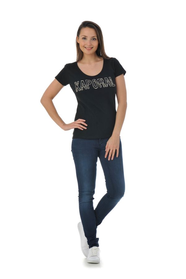 Tee Shirt Femme Kaporal NEMO BLACK P16
