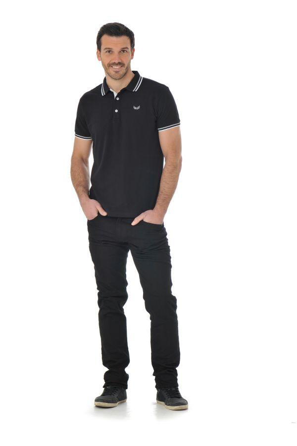 Jean Homme Kaporal BROZ BLACK BLACK P16