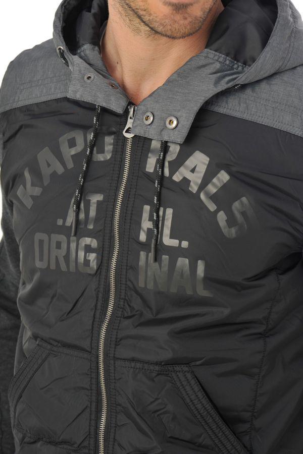 Blouson Homme Kaporal PARKO BLACK