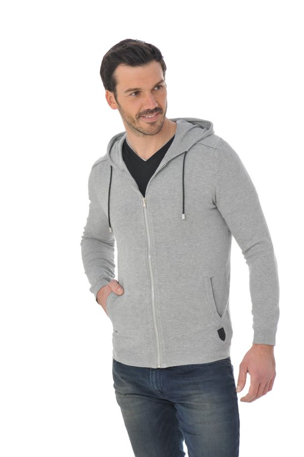 Pull/Sweatshirt Homme Redskins FONDA ELVIS GREY CHINE P16