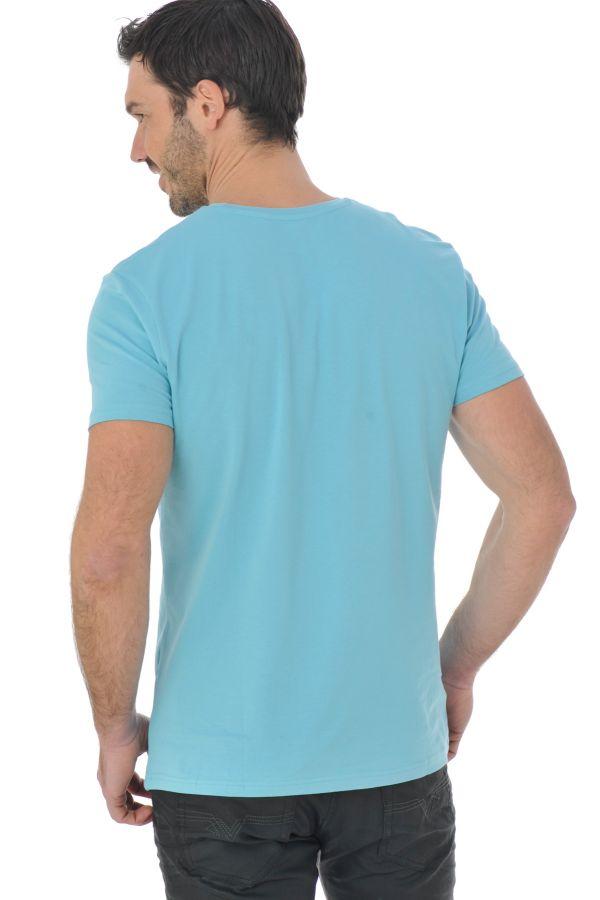 Tee Shirt Homme Kaporal PACK GIFT AQUA/WHITE P16