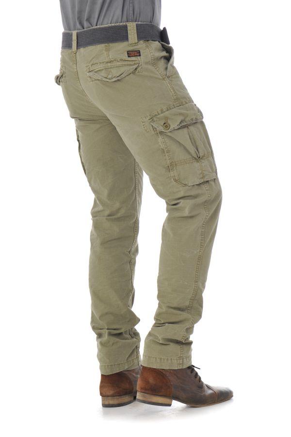 Pantalon Homme Schott TRBEACH70 KAKI