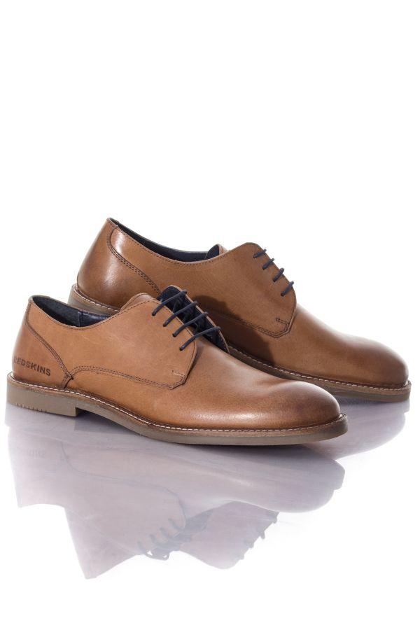 Cuir Homme Chaussures Tan Redskins Wandor Szpna8qw