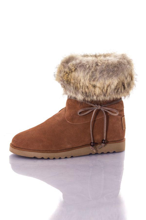 Boots / bottes Femme Les Tropéziennes par M Belarbi CHEYENNE COGNAC