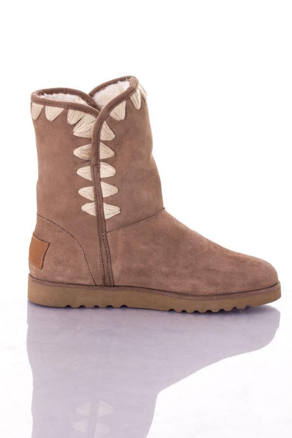 Boots / bottes Femme Les Tropéziennes par M Belarbi COLA TAUPE