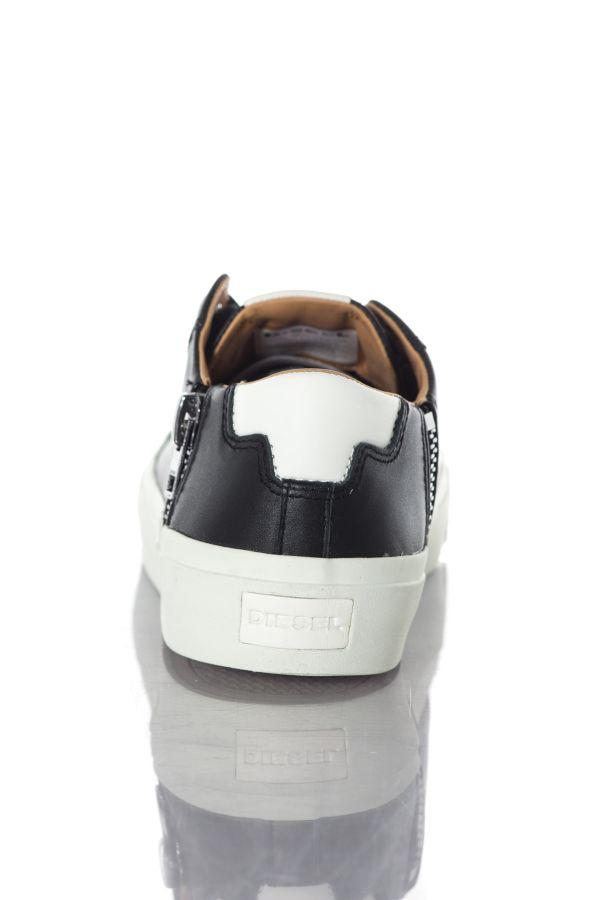 Baskets en cuir Homme Diesel ZIP TURF S VOYAGE T8013 PR013