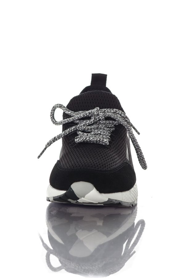 Baskets en toile Homme Diesel S-KBY BLACK PR090
