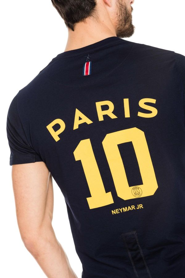 Tee Shirt Enfant Paris Saint Germain T-SHIRT JUNIOR NEYMAR BLEU