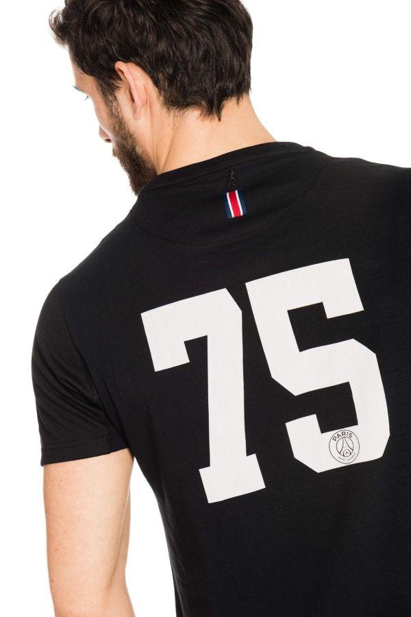 Tee Shirt Enfant Paris Saint Germain T-SHIRT JUNIOR PARIS NOIR