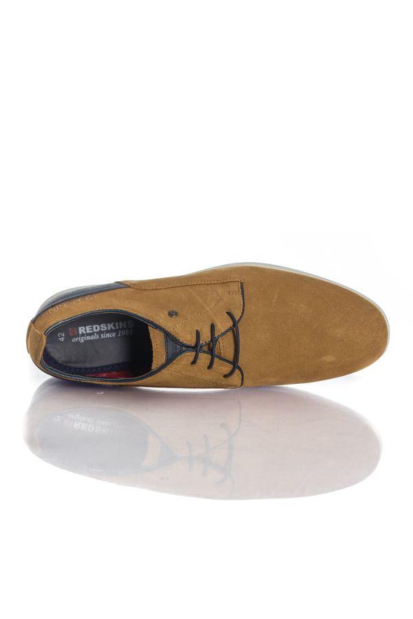 Mistral Chaussures Redskins Marine À Lacets Homme Cognac kXOZPiu