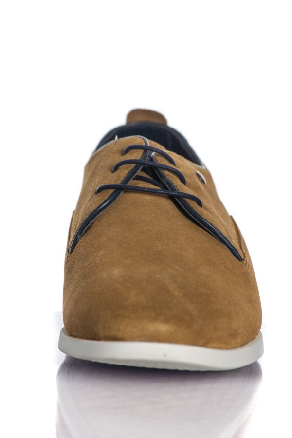 Chaussures à Lacets Homme Chaussures Redskins MISTRAL COGNAC MARINE