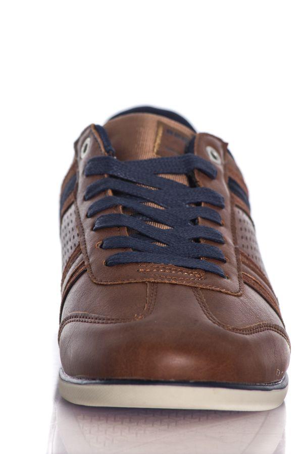 Chaussures Homme Chaussures Redskins ILLIC COGNAC MARINE