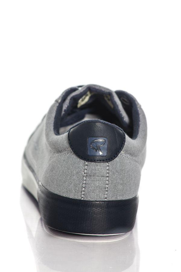Baskets en toile Homme Chaussures Redskins SABARI GRIS MARINE