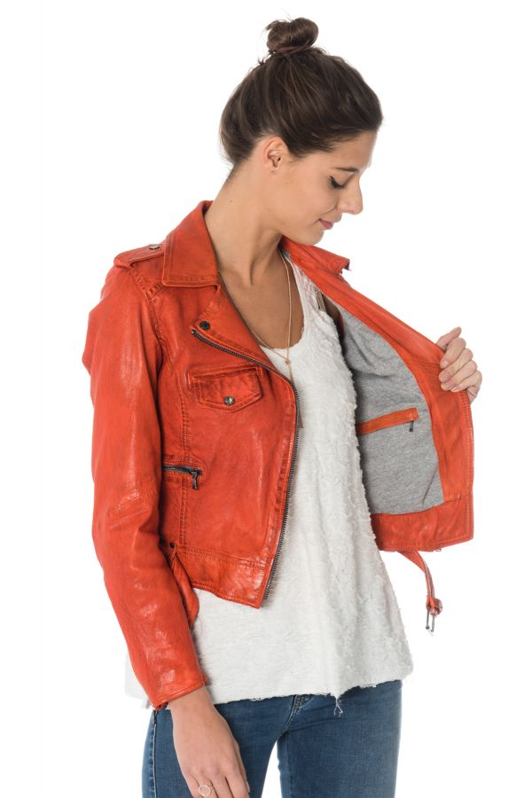 Blouson Femme Oakwood RACING ORANGE 549