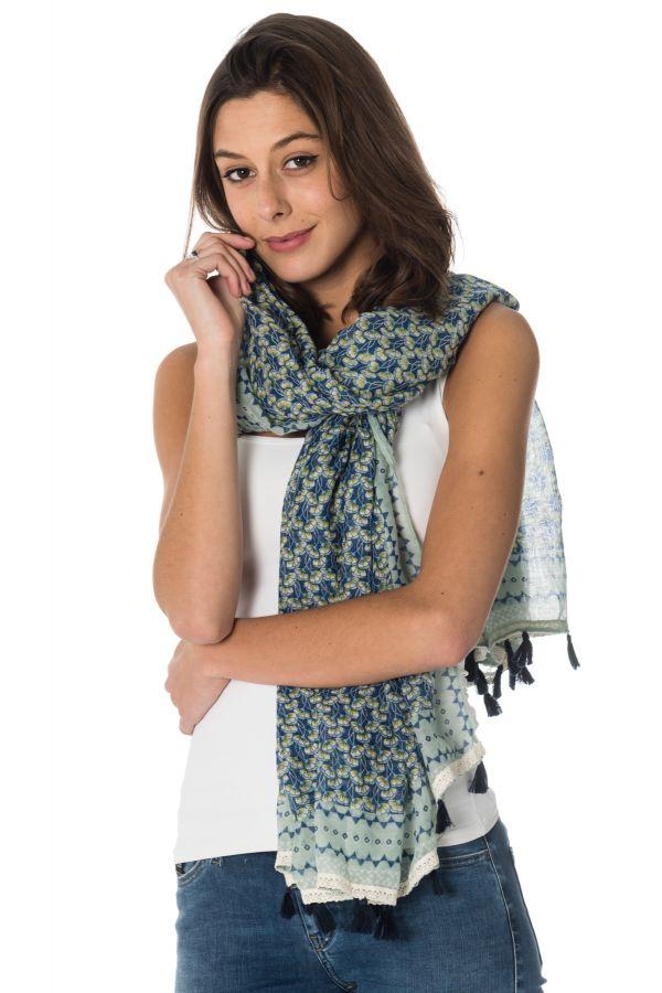 710ca6dfdccd Echarpe Femme Kaporal VERGA MARINE - Cuir-city.com