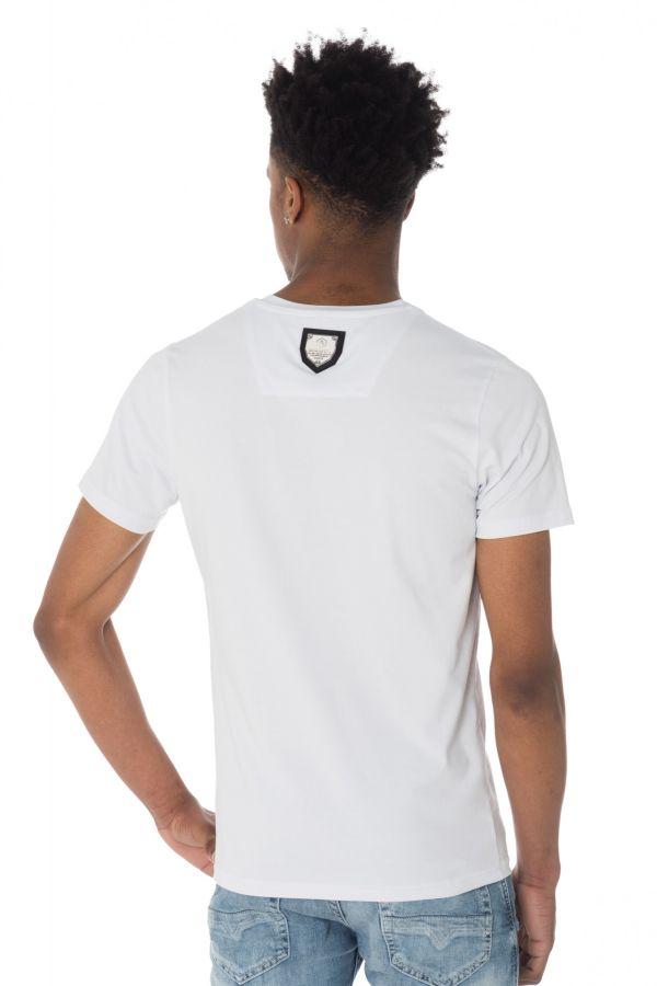 Tee Shirt Homme horspist BOSTON M500 WHITE