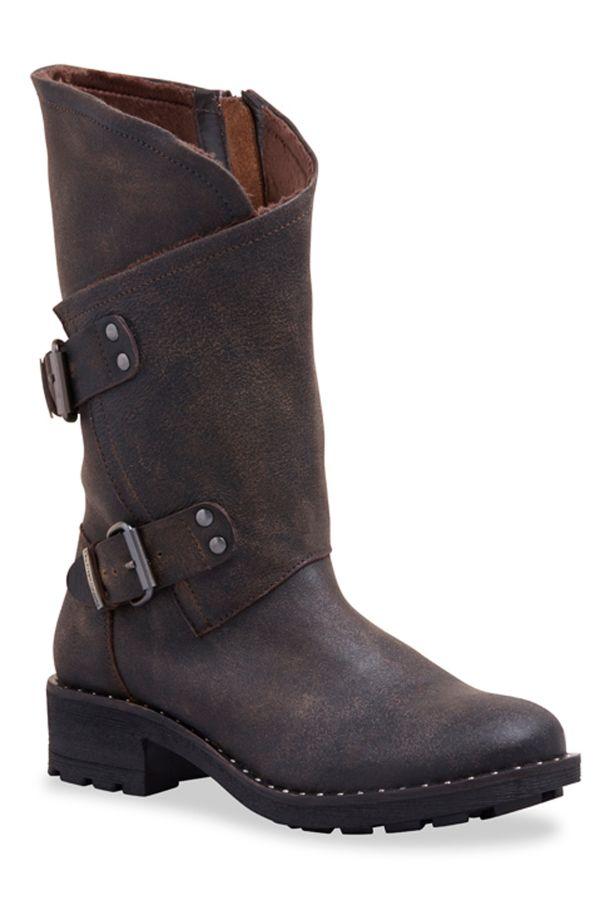 Boots / bottes Femme Les Tropéziennes par M Belarbi ANCLOU MARRON