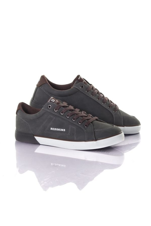 Chaussures Homme Chaussures Redskins SABARIL GRIS COGNAC