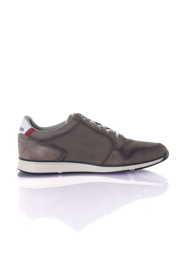 Baskets En Cuir Homme Chaussures Redskins CHACRA ANTHRACITE