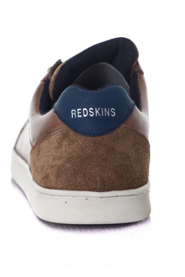 Baskets en cuir Homme Chaussures Redskins DEDISS BRANDY MARINE